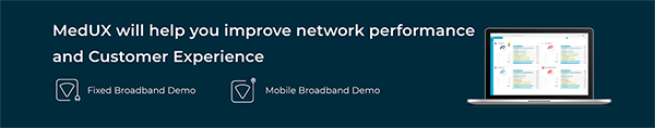 MedUX will help you improve network performance and Customer Experience - Request a Demo